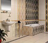 400х275 Керамічна плитка стіна вставка Органза 4 декор, фото 2