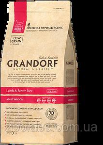 Корм Grandorf для кошек с ягненком   Grandorf Lamb & Rice Adult Indoor 6 кг