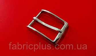 Пряжка мужская классическая 3 см никель 1 прокол