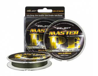 Шнур Select Master PE 100 m (тёмно-зелёный)