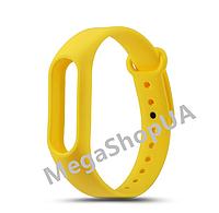 Ремешок для фитнес-браслета Xiaomi Mi Band M2 Yellow. Smart Bracelet Mi Band M2