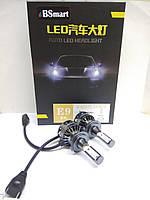 Aвтолампы LED E9, H7, 6000K, 10000Lm, 80W, CANBUS, фото 1