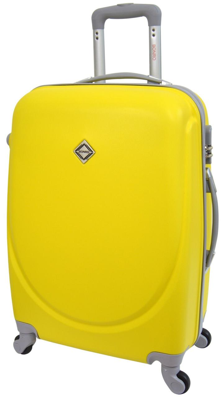 Чемодан Bonro Smile маленький желтый (10052000)