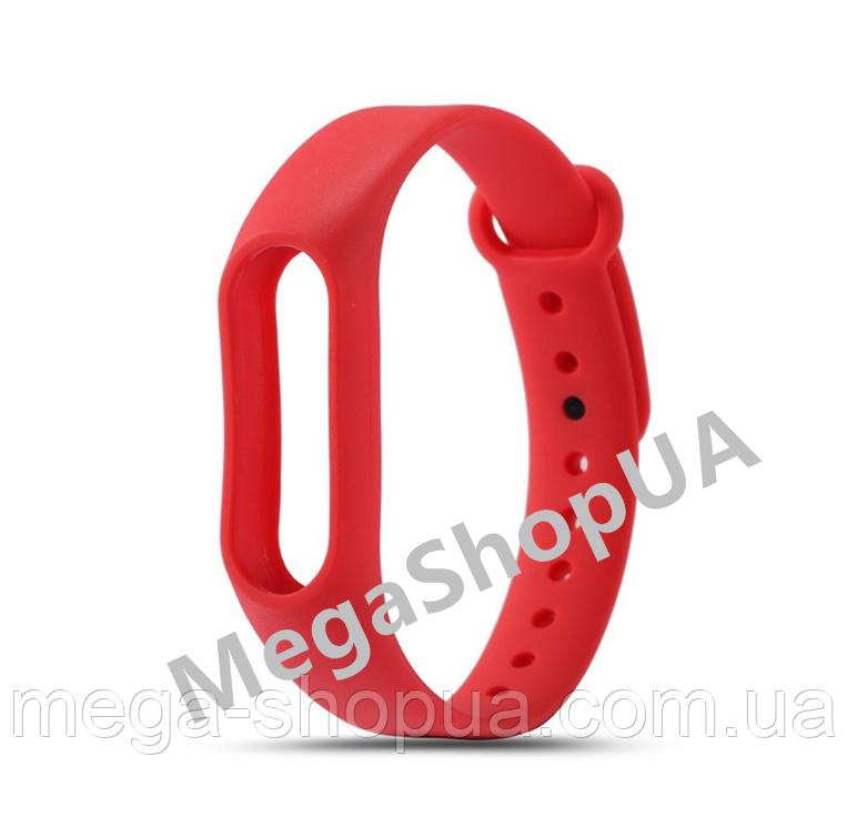 Ремешок для фитнес-браслета Xiaomi Mi Band M2 Red. Smart Bracelet Mi Band M2
