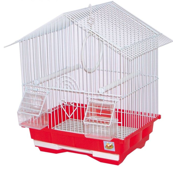 Клітка PRIMAVERA для дрібних птахів, 30х23х39 см