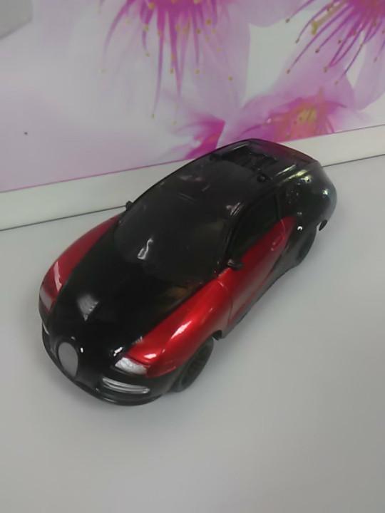 Машинка модель красная музыкальная светящаяся  гоночная