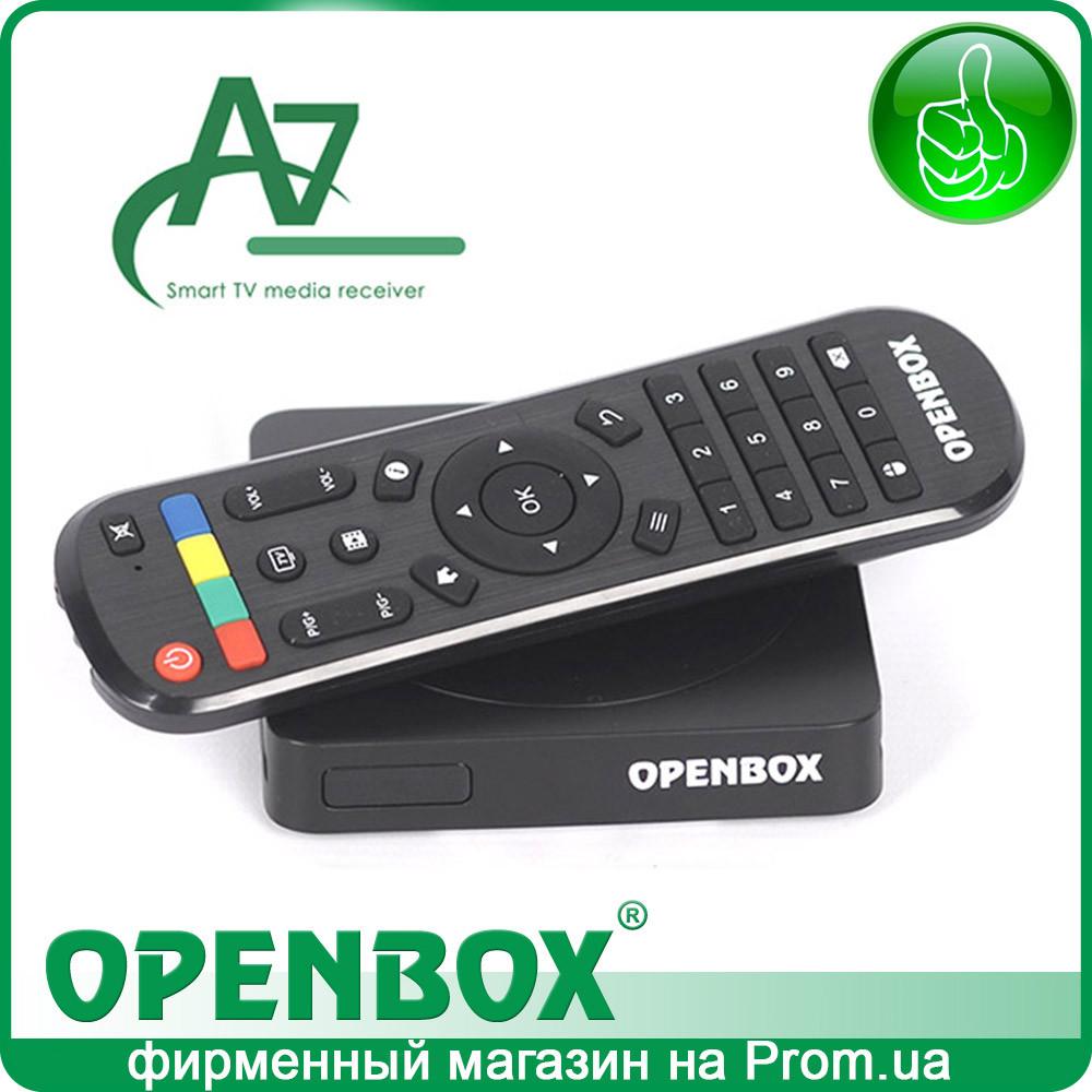 IPTV Android медиаплеер Openbox A7 UHD