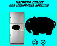 Магнитная доска на холодильник  Слон L (20х35см), фото 1