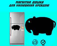 "Магнитная доска на холодильник ""Слон"" XL (30х45см), фото 1"