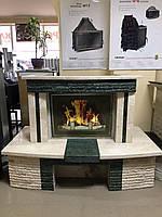 Каминный портал из мрамора (облицовка) Грин