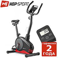 Велотренажер Hop-Sport HS-2080 Spark черно-красный Магнитный, Германия, До 120 кг