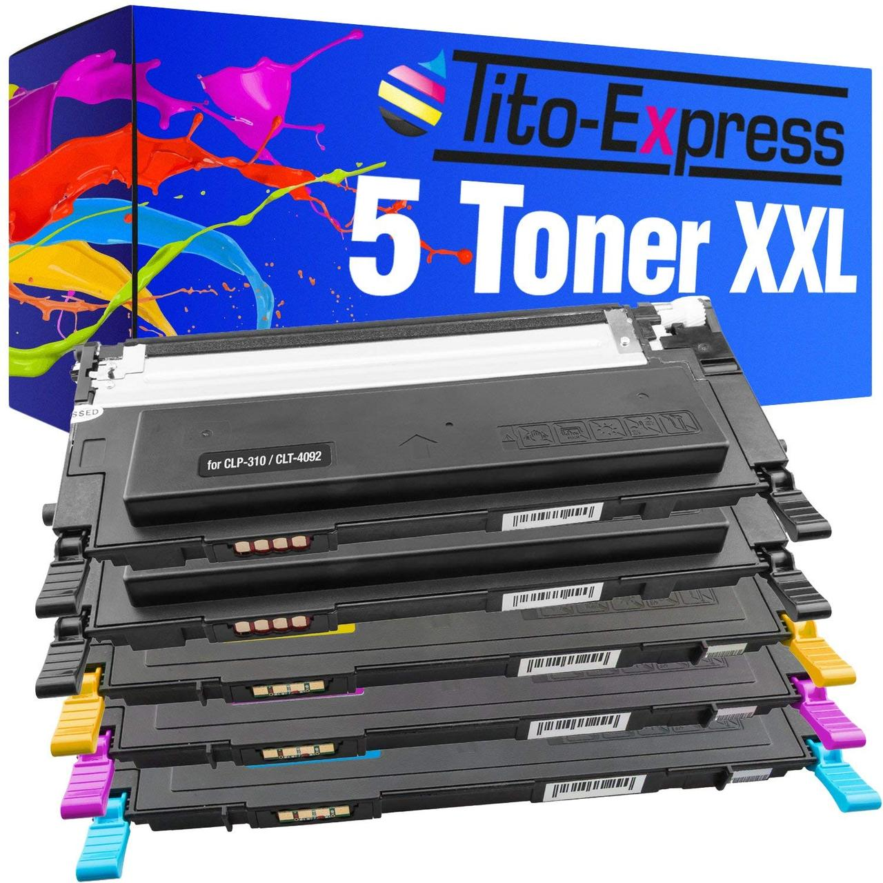 Тонер XXL совместим с Samsung CLT-4092S CLP-310 CLP-310K CLP-310N CLP-310NK CLP-315 CLP-315K CLP-315N CLP-315W