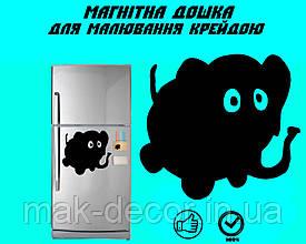 Магнитная доска на холодильник Слоник Гоша L (20х25см)