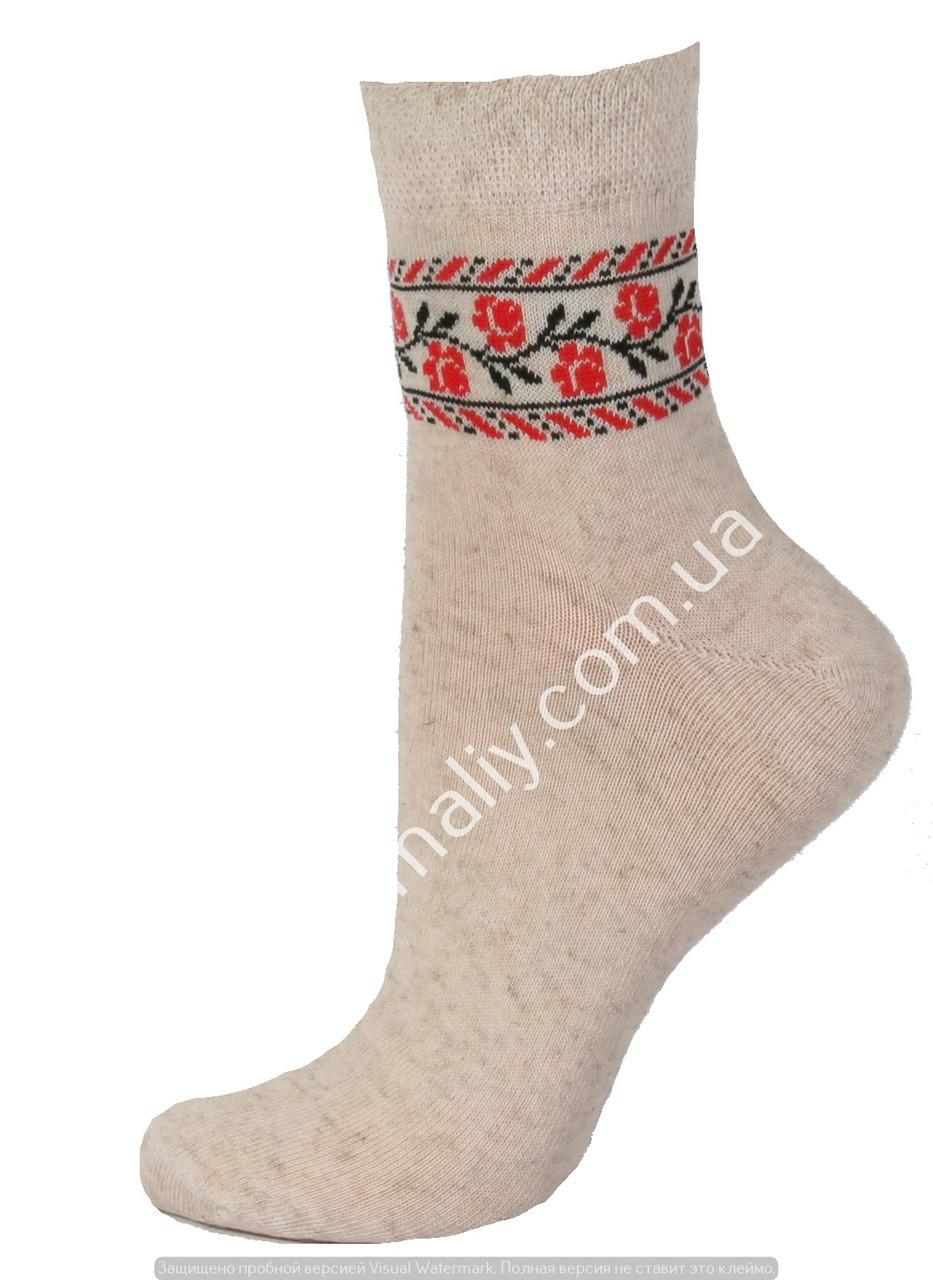 Носки женские лен