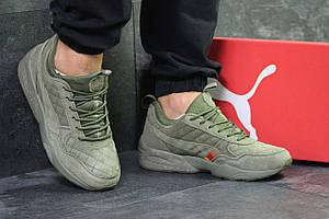 Мужские кроссовки Ronnie fieg x HIGHSNOBIETY x Puma, зеленые 44,45р