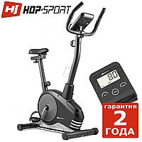 Велотренажер Hop-Sport HS-2080 Spark черно-серебристый Магнитный, Германия, До 120 кг