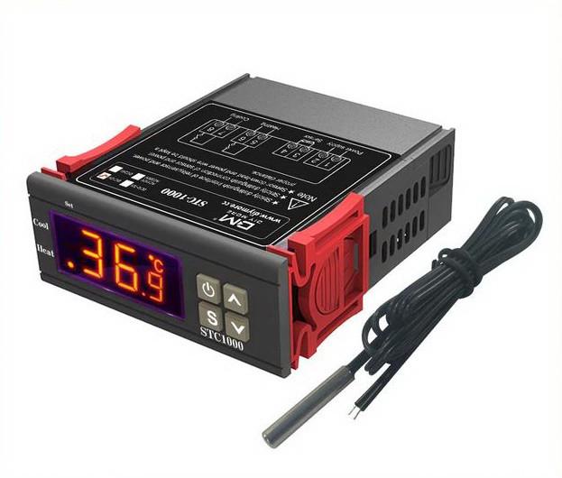 Цифровий терморегулятор (термостат) STC-1000 з датчиком температуры, 220 вольт