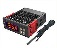 Цифровий терморегулятор (термостат) STC-1000 з датчиком температуры, 220 вольт, фото 1