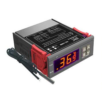 Цифровой терморегулятор (термостат) STC-1000 с датчиком температуры, 220 вольт