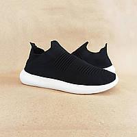 Черные кроссовки носки на подошве в стиле баленсиага balenciaga мужские сетка ткань