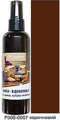 Спрей-Фарба для замші,нубуку та велюру 100 мл коричневий