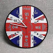 Часы для кабинета английского языка. Обучающие
