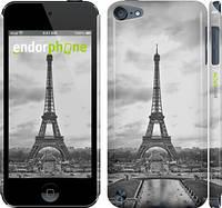 "Чехол на iPod Touch 5 Чёрно-белая Эйфелева башня ""842c-35"""