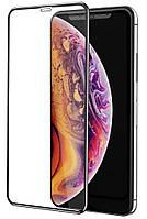 Защитное стекло 5D (Full Glue) iPhone X / Xs Черный