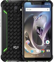 """Смартфон ZOJI Z33 Green 3/32Gb, 16+2/13Мп, 8 ядер, 2sim, экран 5.85"""" IPS, 4600mAh, GPS, 4G (LTE)"""