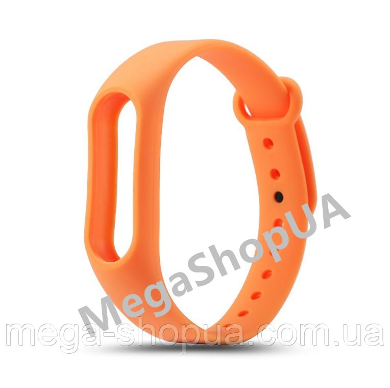Ремешок для фитнес-браслета Xiaomi Mi Band M2 Orange. Smart Bracelet Mi Band M2