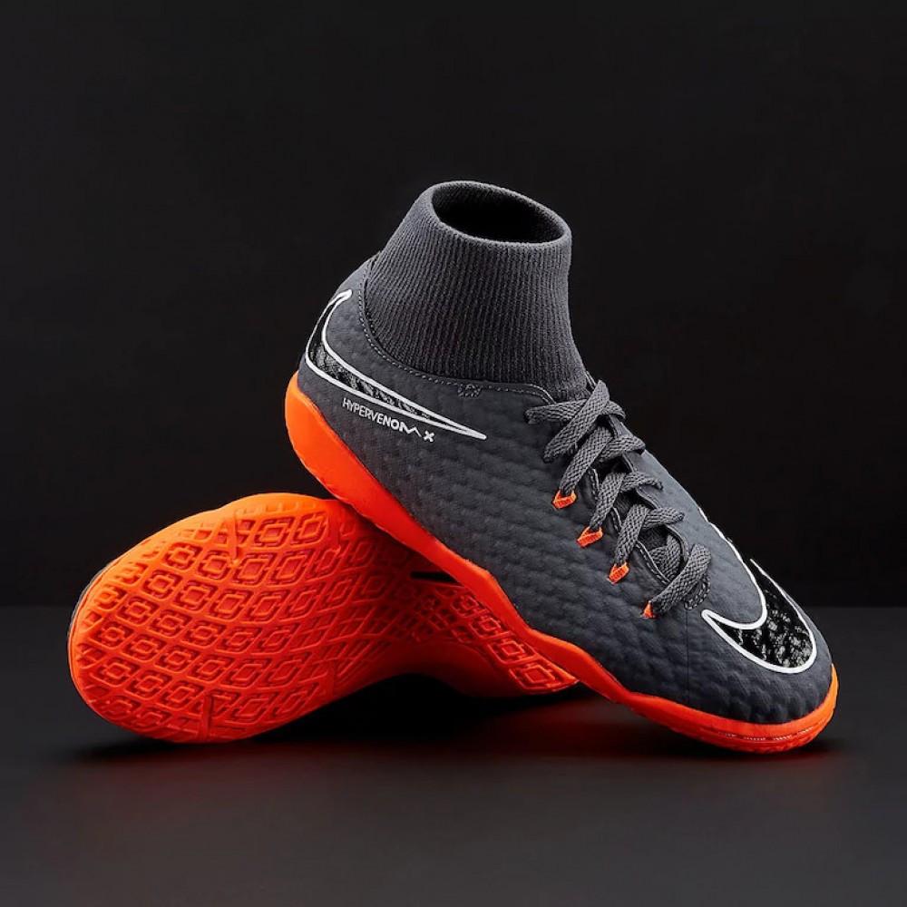 Футзалки детские Nike JR Hypervenom PhantomX 3 Academy DF IC Eur 33.5 (21 cm)