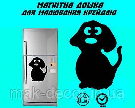 Магнитная доска на холодильник Собака Бобик L(20х30см)