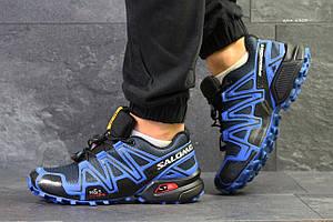 Кроссовки мужские Salomon Speedcross 3,синие 42,44р