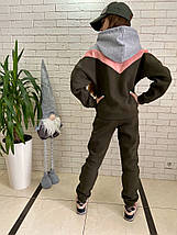 """Теплый подростковый спортивный костюм """"Begum"""" с капюшоном (3 цвета), фото 3"""