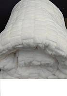 """Белоснежный плед-покрывало из микрофибры """"Брусчатка"""", фото 1"""