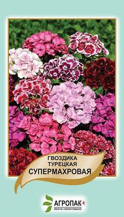 Семена Гвоздика турецкая супермахровая 0,5 г W.Legutko 5061, фото 2