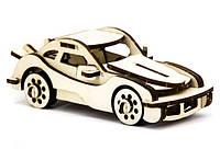 Дерев'яний 3Д пазл Автомобіль легковий, ДРЛ105-4, фото 1