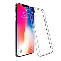 Силиконовый чехол iPhone X / Xs Прозрачный