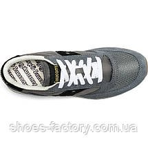 "Кроссовки мужские Saucony Jazz Original Vintage ""Grey/Black"" 70368-86s (Оригинал), фото 2"