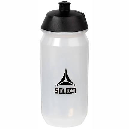 Бутылка для воды SELECT SPORTS WATER BOTTLE (001), белый, 0,5L, фото 2