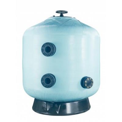 Фильтр мотаный стекловолокно VIC без вентиля (боковой тип подключения, выход 63 мм.) D1050 мм., Fluidra