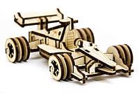 Дерев'яний 3Д пазл Автомобіль Формула 1, ДРЛ105-5, фото 1