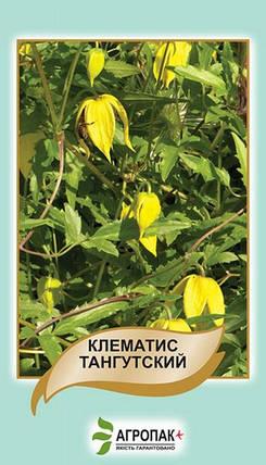 Семена Клематис тангутский желтый 20 сем W.Legutko 5083, фото 2