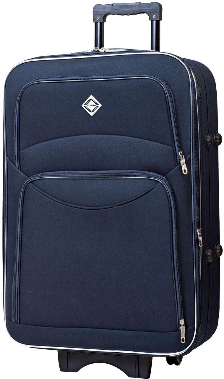 Чемодан Bonro Style средний синий (10012301)