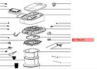 Оригинал. Уплотнитель клапана для мультиварки Tefal код SS-996255