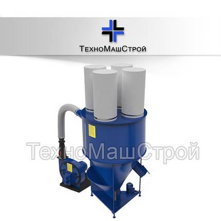 Смеситель сыпучих материалов КС-1000 с измельчителем зерна KRAFT, фото 2