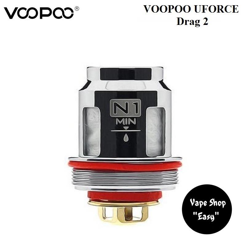 Испаритель VooPoo Uforce N1  0,13 Ом Drag 2, UFORCE T1, T2 Оригинал.
