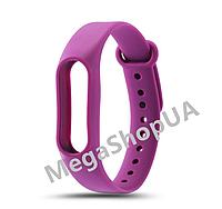 Ремешок для фитнес-браслета Xiaomi Mi Band M2 Purple. Smart Bracelet Mi Band M2