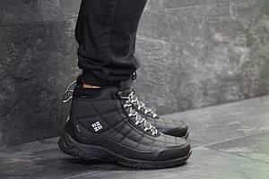 Высокие мужские кроссовки Columbia,черные
