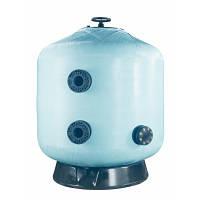 Фильтр мотаный стекловолокно VIC без вентиля (боковой тип подключения, выход 75 мм.) D1200 мм., Fluidra